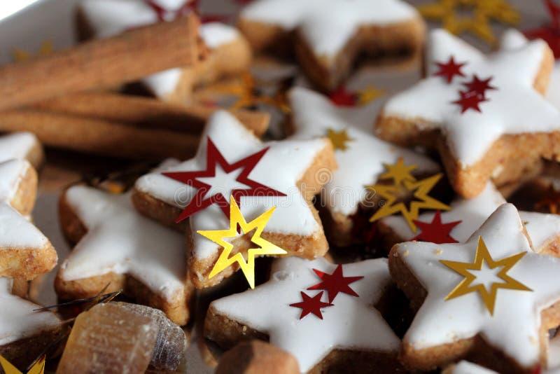 Dulces tradicionales de la Navidad imagenes de archivo