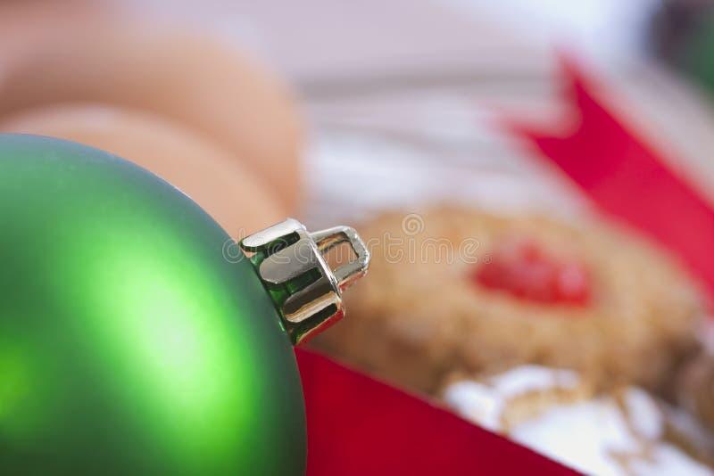 Dulces y pasteles de la Navidad fotos de archivo libres de regalías