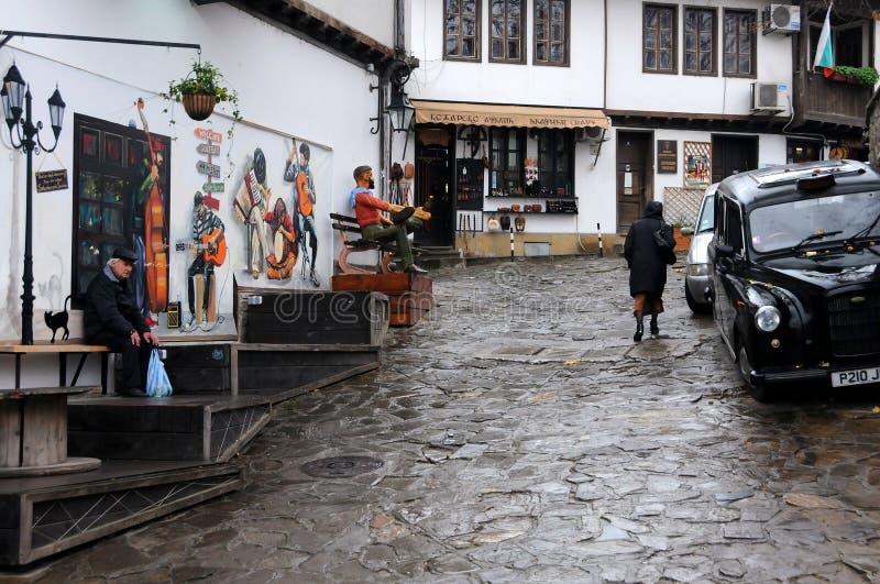 Dull Season in Veliko Tarnovo royalty-vrije stock foto
