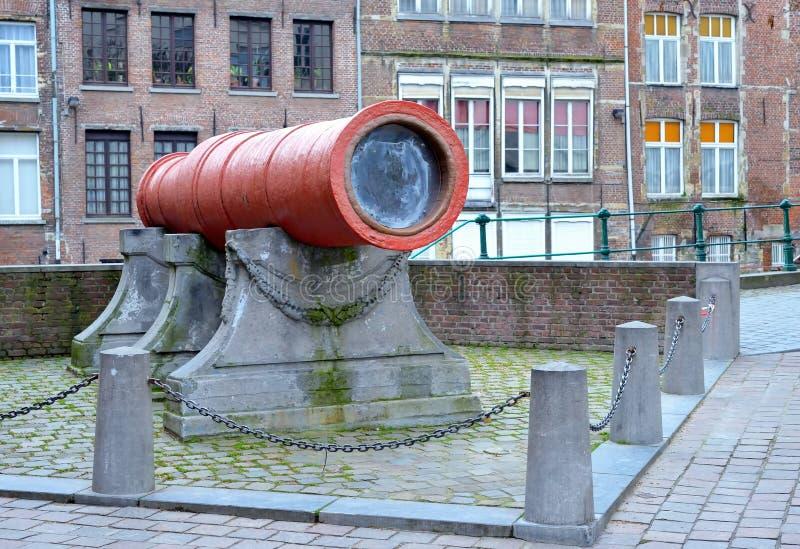 Dulle Griet或疯狂的Meg在跟特,比利时 免版税库存图片