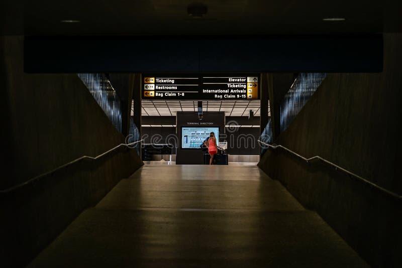 Dulles internationell flygplats arkivbilder