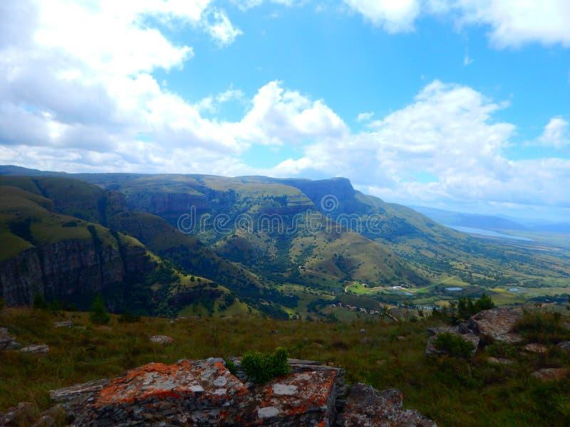 Dullstroom doliny krajobraz zdjęcie royalty free
