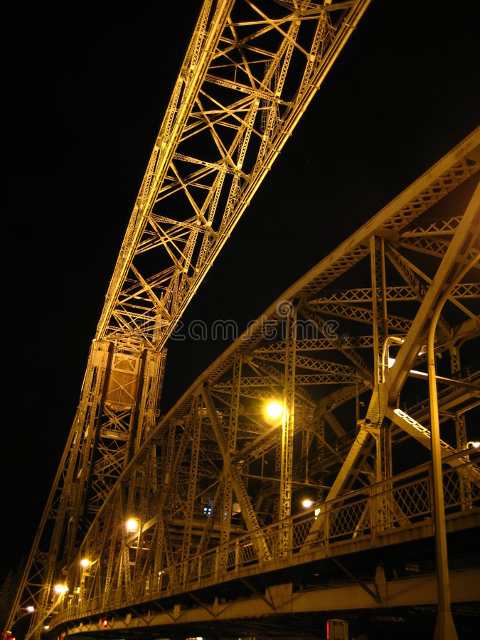 Download Duluth Aerial Lift Bridge Royalty Free Stock Photography - Image: 3329987