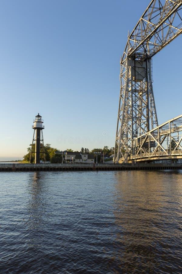 Duluth most & zdjęcie stock