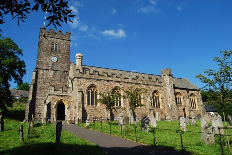 Dulverton教会 免版税库存图片