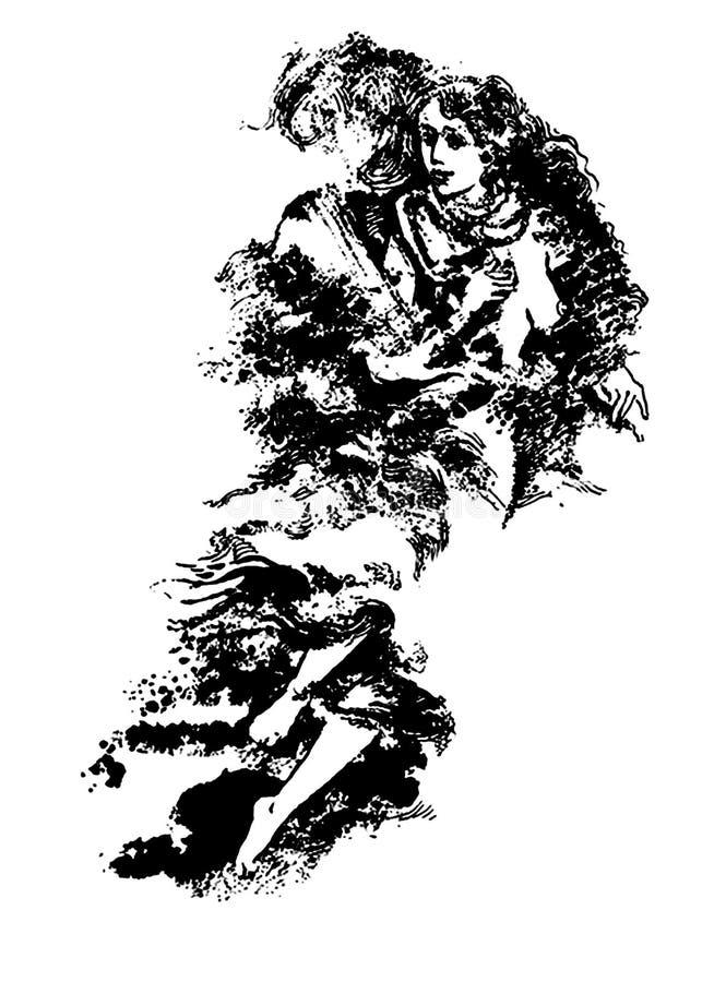 Download Duma. ilustracji. Obraz złożonej z pierś, chest, inwokacja - 6400548