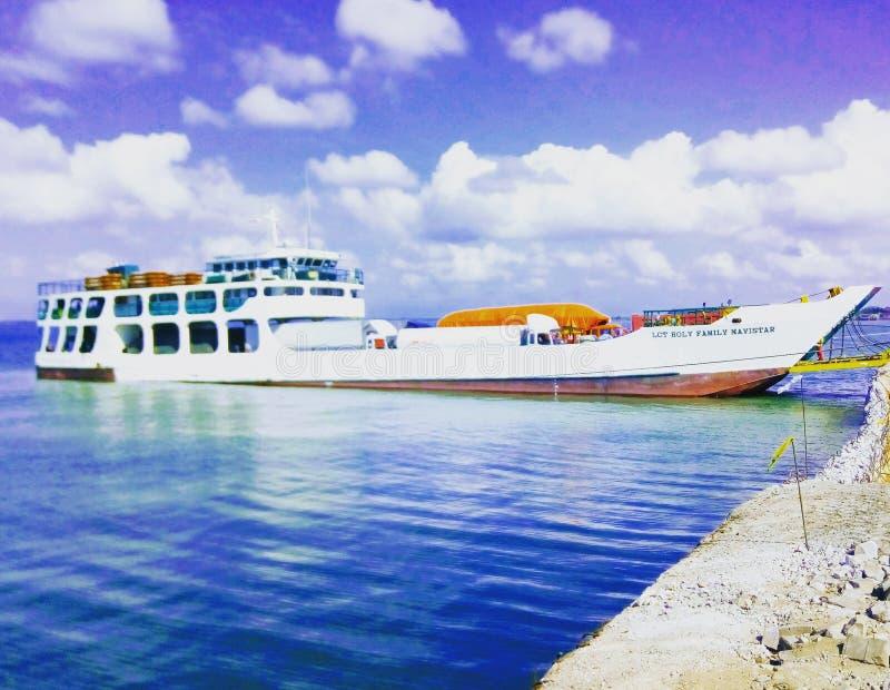 Dumangas port obraz stock