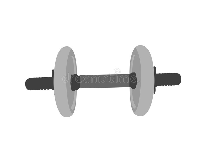 Dumbbell royalty illustrazione gratis