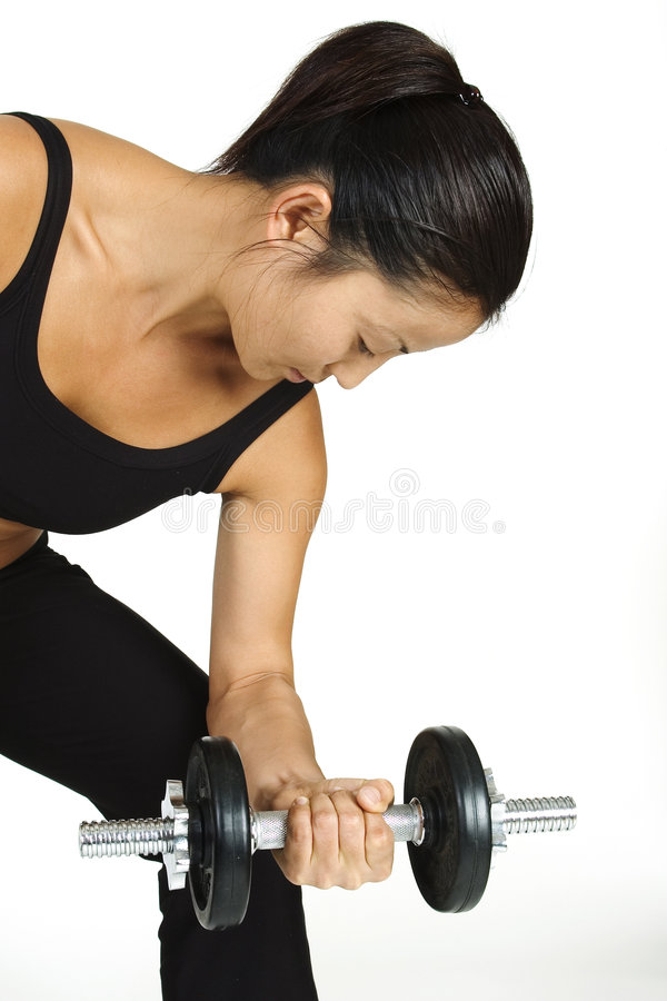 Free Dumbbell Curl 2 Royalty Free Stock Image - 73526