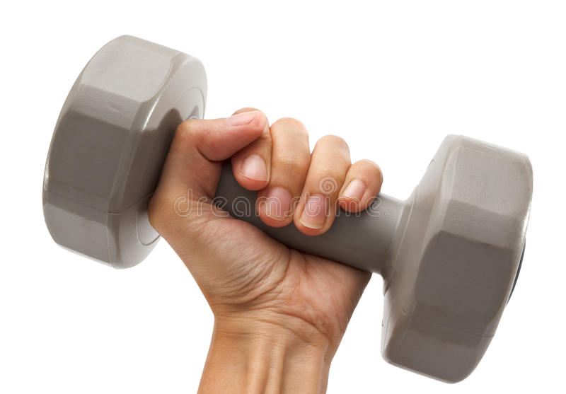 Download Dumbbell in hand stock image. Image of people, training - 39508121