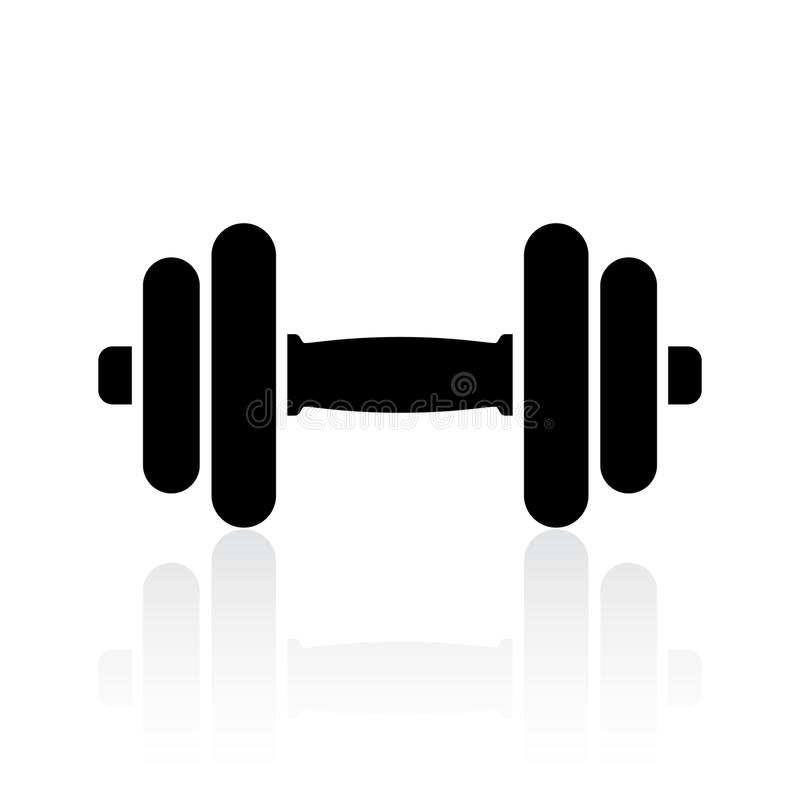 Free Dumbbell Icon Stock Images - 97783044