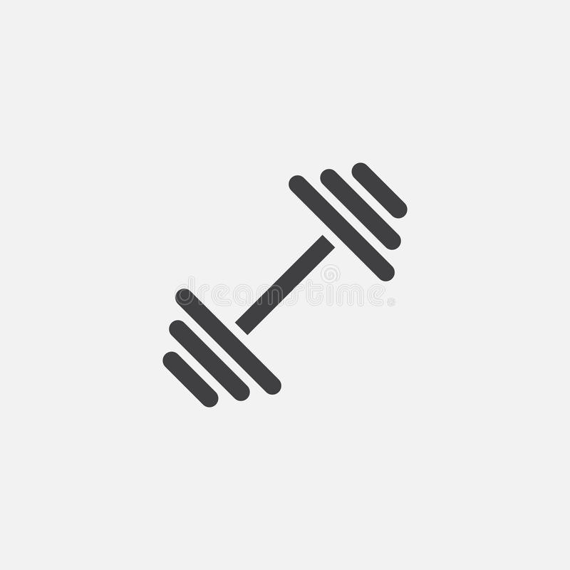 Dumbbell Icon, Vector Logo Illustration, Pictogram ...