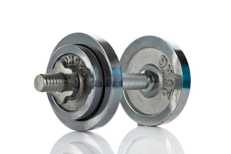 Download Dumbbell Odizolowywający Na Białym Tła Gym Przedmiota Pojęciu Zdjęcie Stock - Obraz złożonej z bodybuilding, żelazo: 53785646