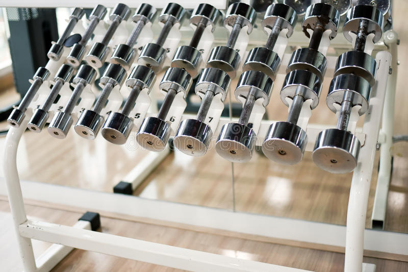 Dumbbell stock photography