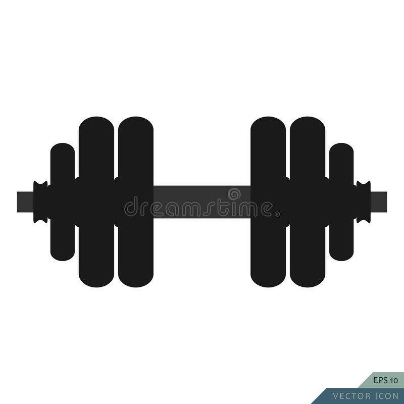 Free Dumbbell Vector Icon Stock Photography - 87606312