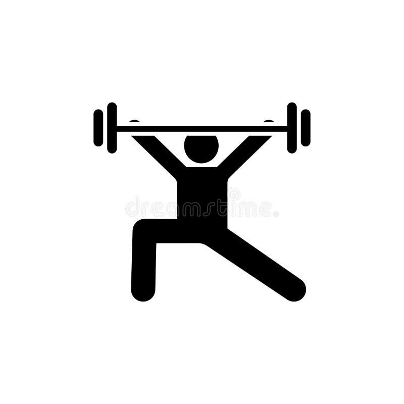 Dumbbells, ćwiczenie, sport, ciężar, gym ikona Element gym piktogram Premii ilo?ci graficznego projekta ikona podpisz symboli ilustracja wektor
