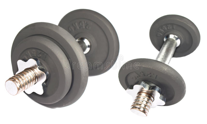 Dumbbells fotografia de stock royalty free