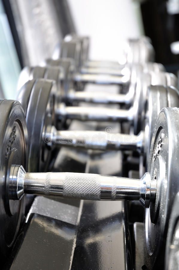 Download Dumbbells Stock Photography - Image: 15401992