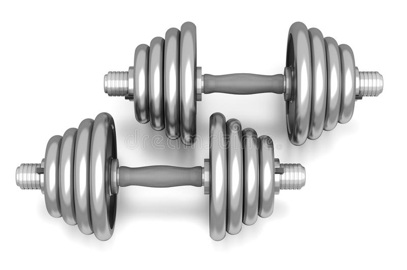 Download Dumbbells Stock Photos - Image: 18214093