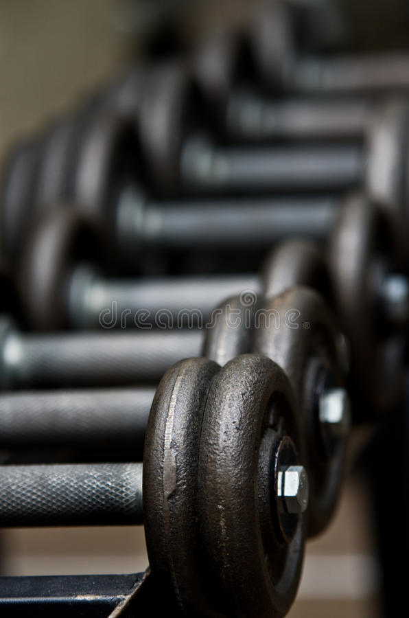 Download Dumbbells stock photo. Image of iron, weightlifting, strong - 28917362