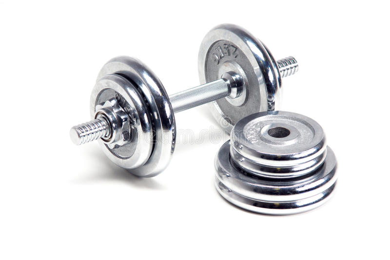 dumbbells photos stock