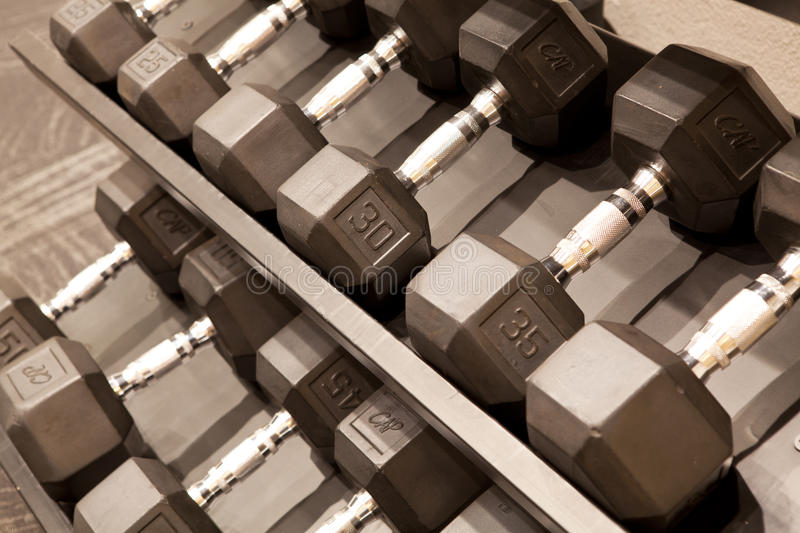 dumbbells images libres de droits