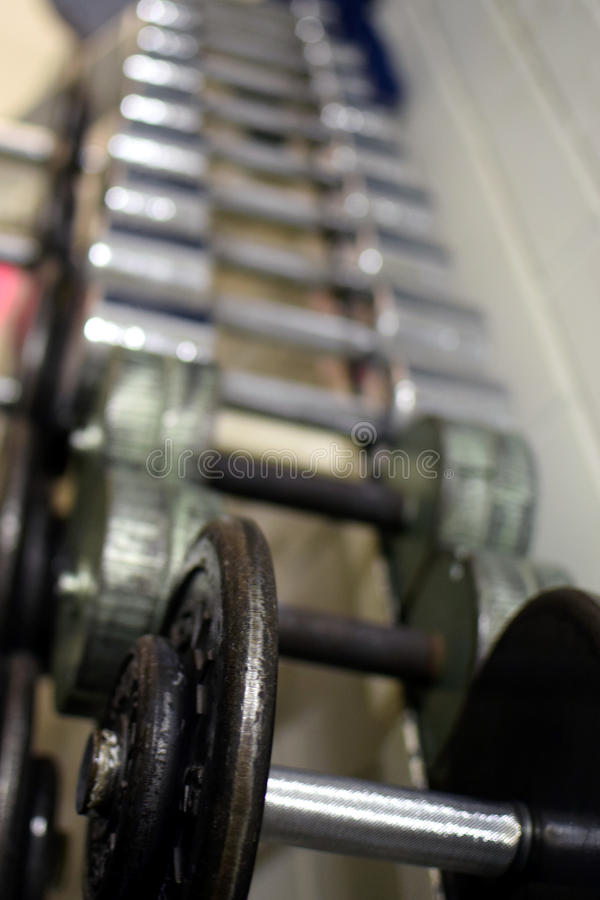 dumbbells photographie stock