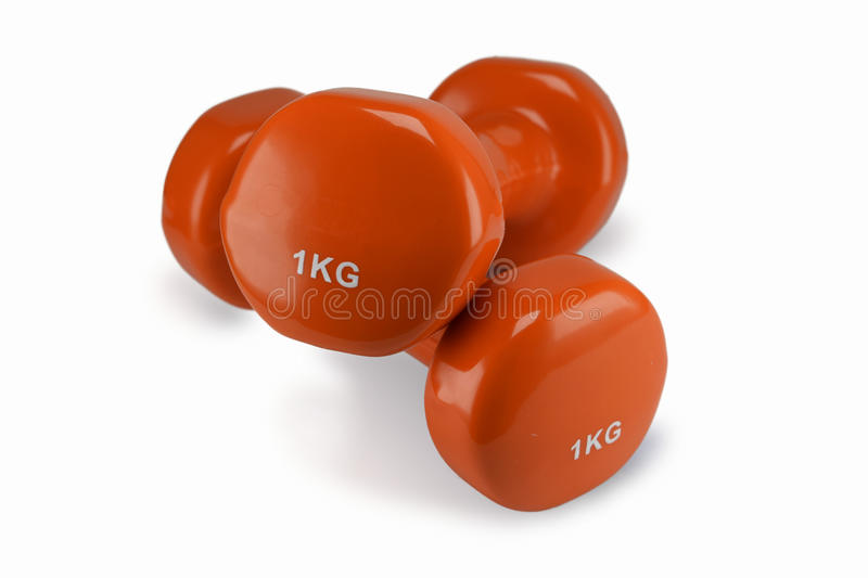 dumbbells image stock