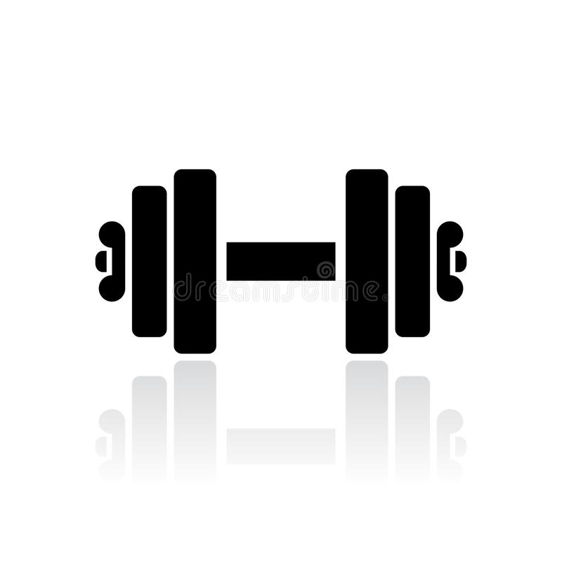 Download Dumbbells Vector Icon Stock Vector - Image: 83720266