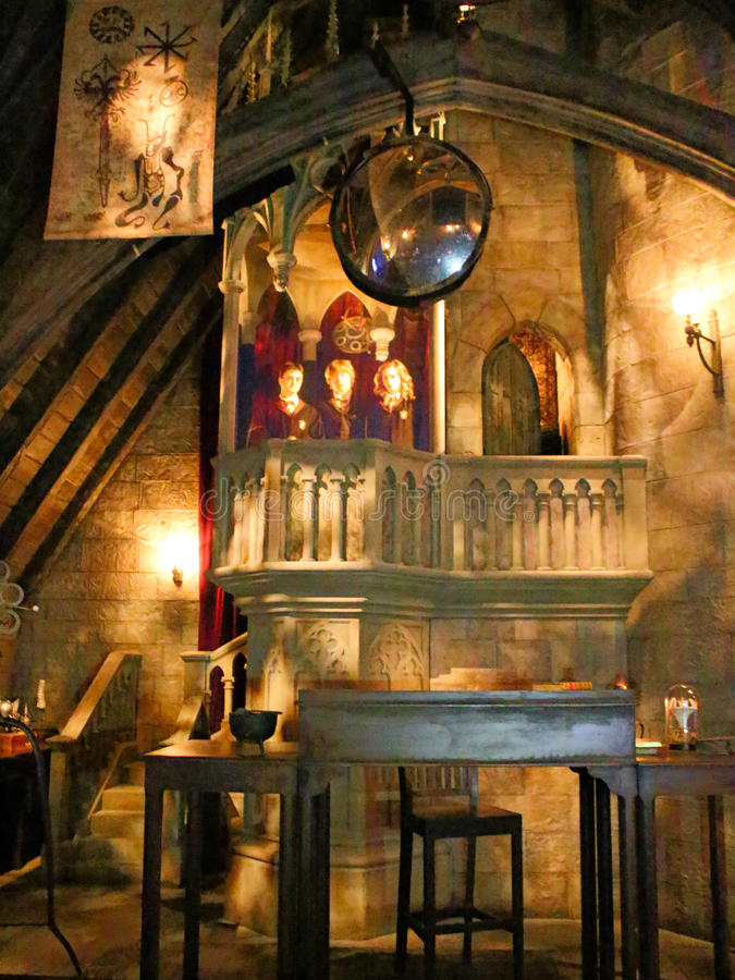 Amazing Download Dumbledore`s Office In The Wizarding World Of Harry Potter  Editorial Stock Image