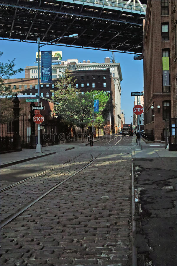dumbo Νέα Υόρκη του Μπρούκλιν στοκ εικόνες