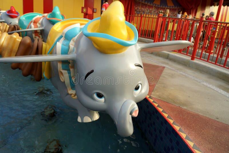 Dumbo езда стоковые фотографии rf