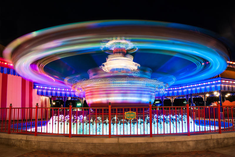 Dumbo FahrDisney-Welt stockfoto