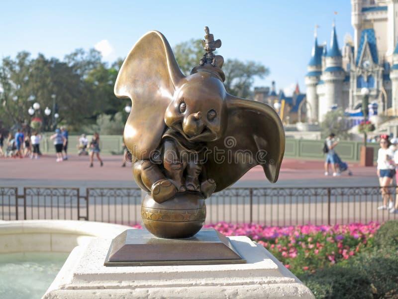 Dumbo statua fotografia stock