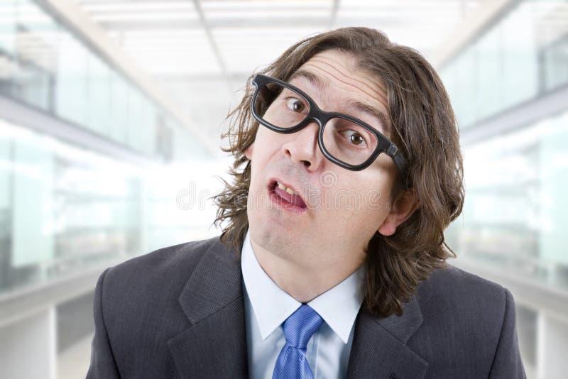 Dummer Mann stockfoto
