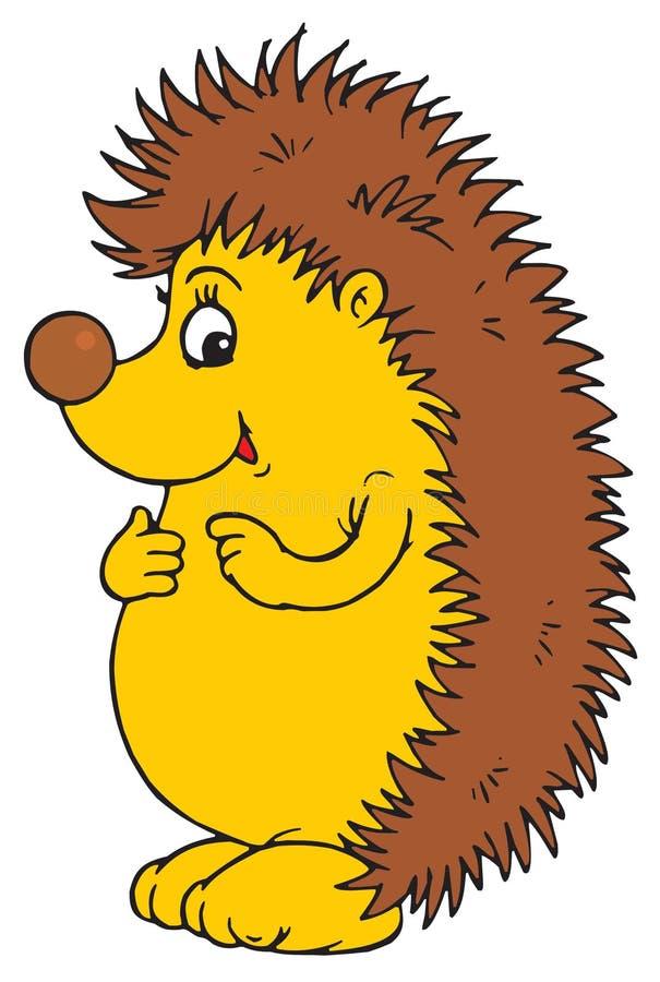 dummes igel zeichen vektor abbildung illustration von hedgehog clipart outline hedgehog clipart gif