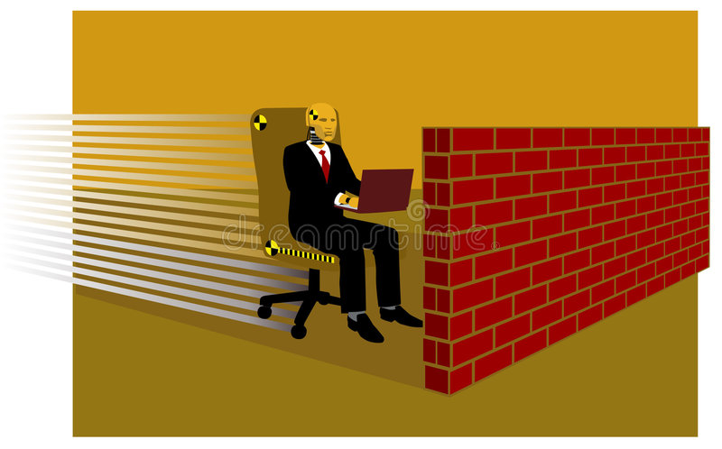 Dummy executive stock photography