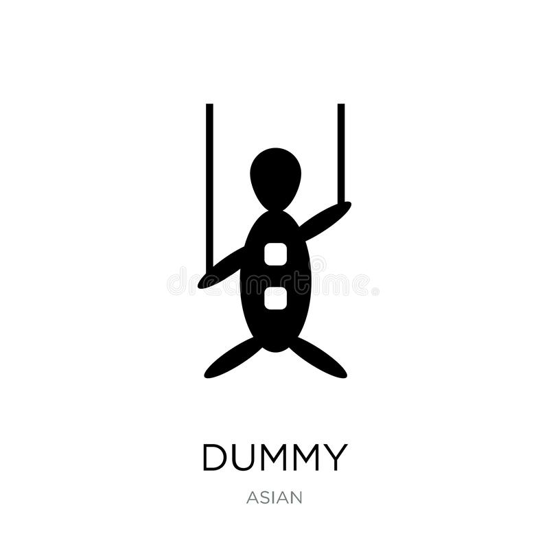 dummy icon in trendy design style. dummy icon isolated on white background. dummy vector icon simple and modern flat symbol for stock illustration