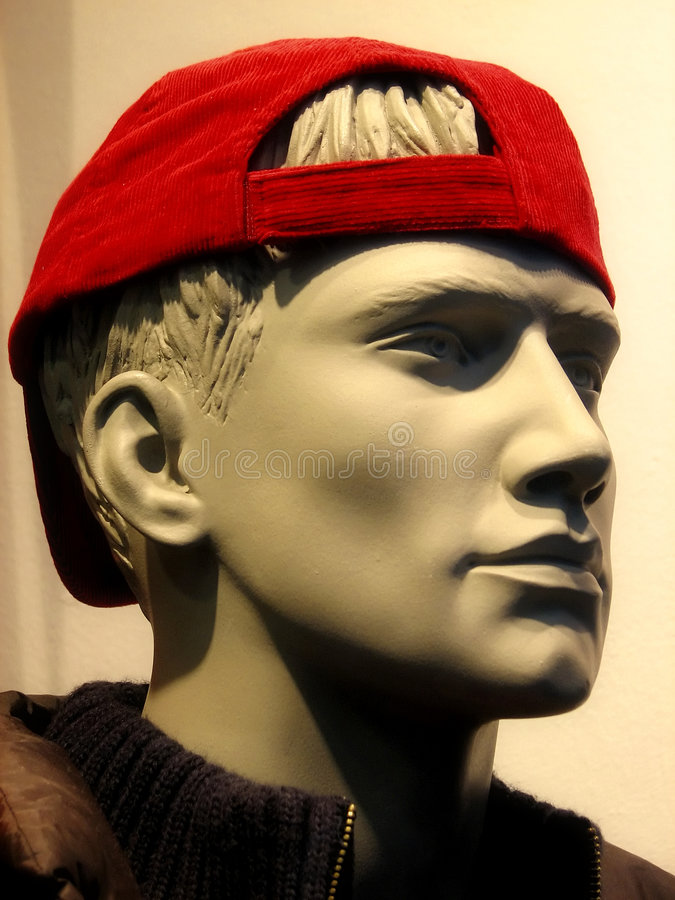 Dummy With A Red Cap Stock Image