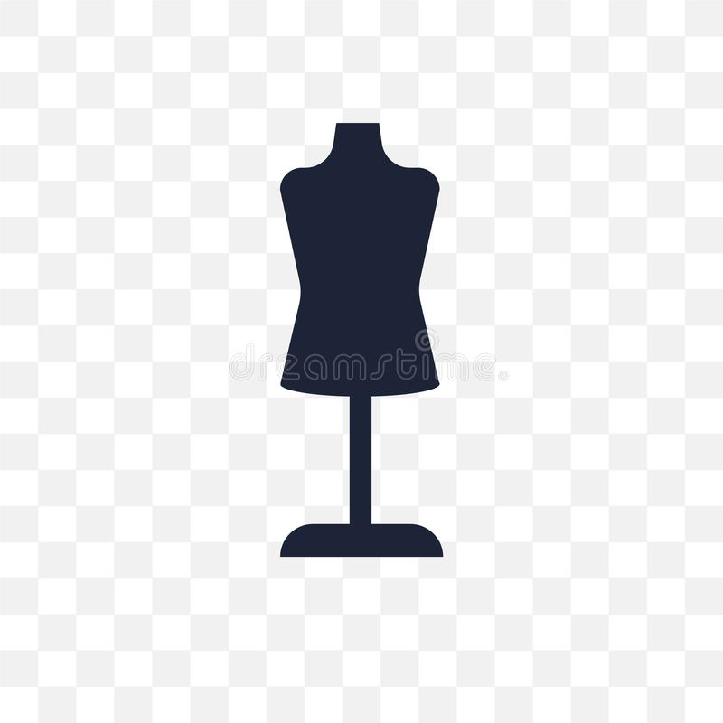 Dummy transparent icon. Dummy symbol design from Sew collection. stock illustration