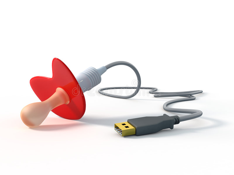 Download Dummy USB stock illustration. Image of contact, internet - 7000607