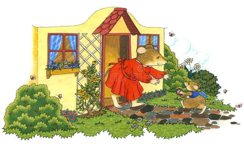 Dumna matka royalty ilustracja
