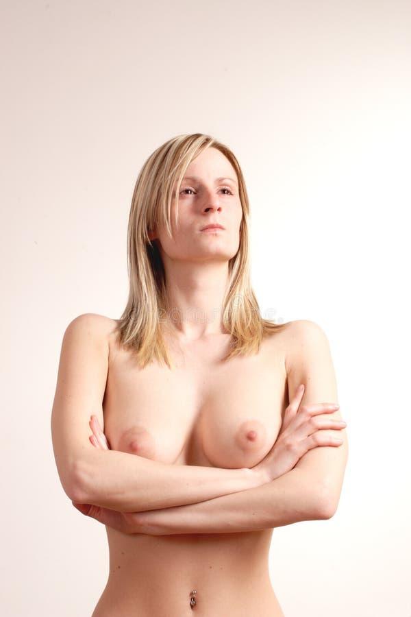 Download Dumna Obrażona Naga Kobieta Obraz Stock - Obraz złożonej z śpiący, wyrażenie: 140747