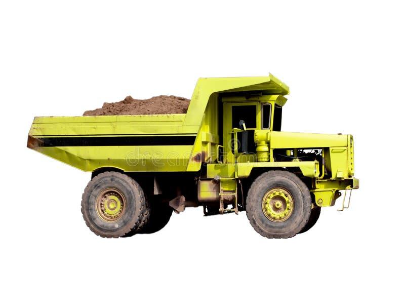 Download Dump-body truck stock photo. Image of minerals, hauler - 15508358