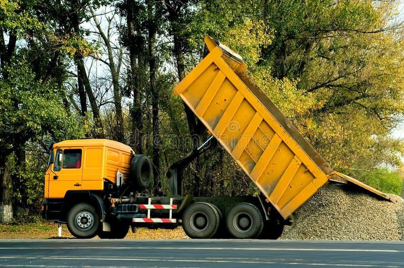 Download Dump truck stock photo. Image of unload, transportation - 12044460