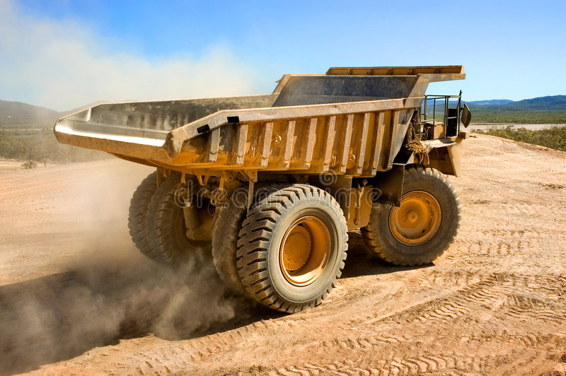 Download Dump Truck Royalty Free Stock Image - Image: 2334726
