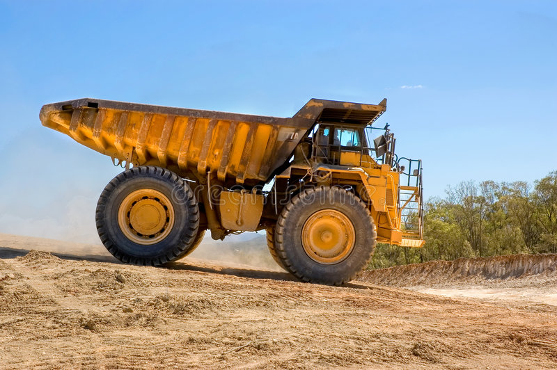 Download Dump truck stock image. Image of earth, type, mine, brown - 2334767