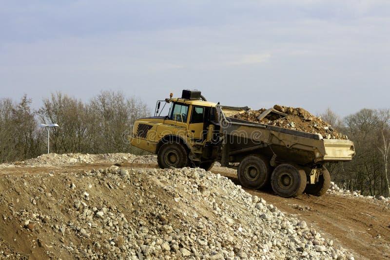 dump truck royalty-vrije stock afbeeldingen