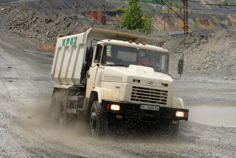 dump truck stock foto