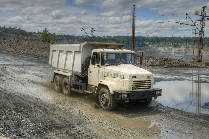 dump truck royalty-vrije stock afbeelding